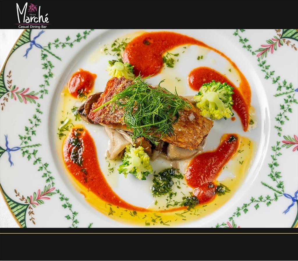 フレンチレストラン・マルシェのWebサイト更新